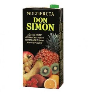 ZUMO D.SIMON MULTIFRUTA NECT. BK. 1 L