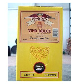 VINO MOSCATEL LUQUE BAG 5 L