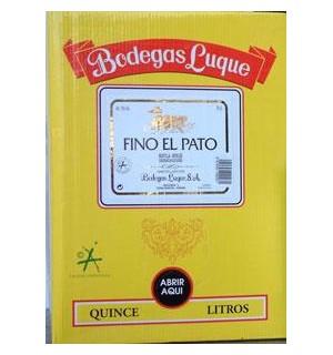 VINO FINO EL PATO BAG 15 L
