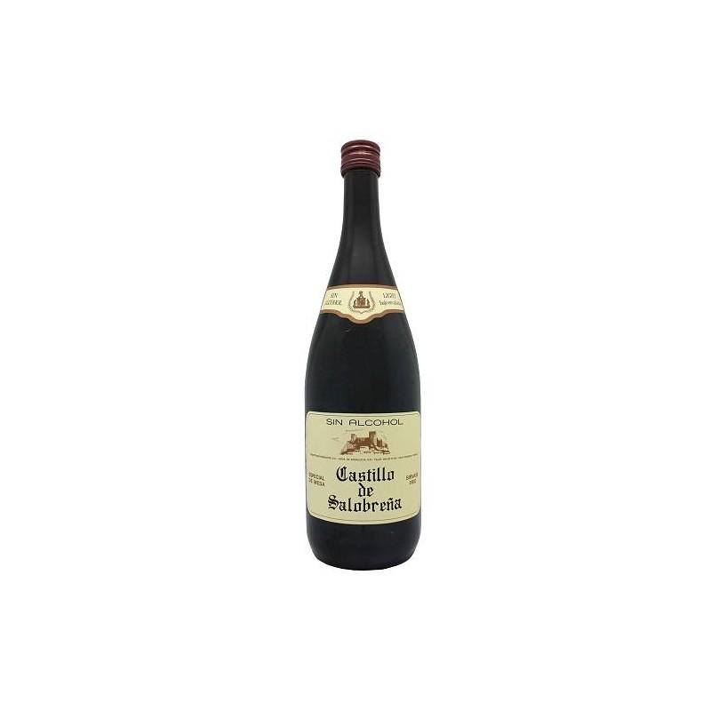 CASTILLO SALOBREÑA TINTO S/ALCOHOL 1 L