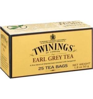 TE TWININGS EARL GREY EST.25 S