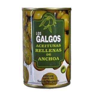 ACEITUNAS GALGOS MANZ. R/ANCHOA 300 GR