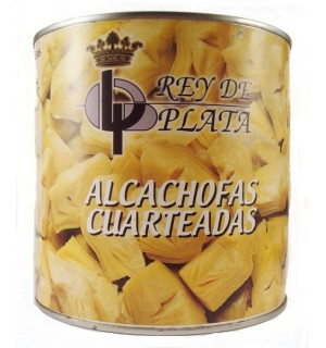ALCACHOFAS REY PLATA TROZOS LT. 2.5 KG
