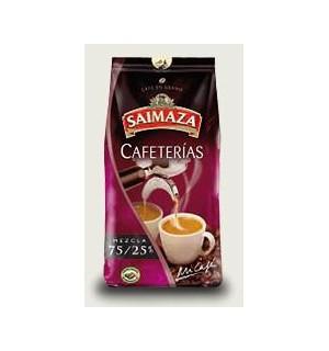 CAFE SAIMAZA CAFETERIAS G.MEZC.75/25 1 K