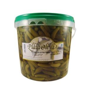 PEPINILLOS PLATA.EX.FINO CB. 4.05 KG