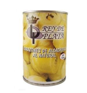 ALCACHOFAS REY PLATA 8/10 LT. 390 GR