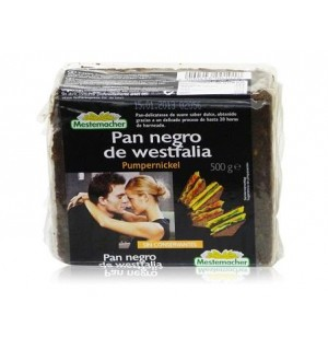 PAN MESTEMACHER NEGRO WEST.500 G