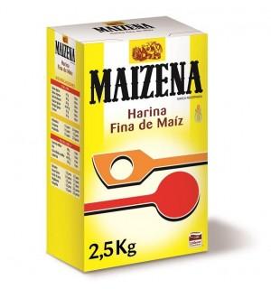 MAIZENA HARINA FINA MAIZ 2.5 KG