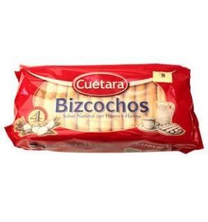 BIZCOCHOS CUETARA CAJA 400 GR