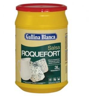 SALSA G.BLANCA ROQUEFORT 525 GR