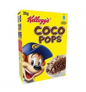 KELLOGG'S COCO POPS-CHOCO KRISPIES 35 GR