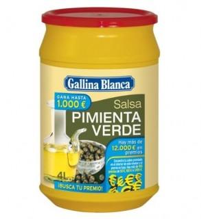SALSA G.BLANCA PIMIENTA VERDE 600 GR