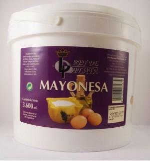 MAYONESA REY DE PLATA CUBO 3.6 L