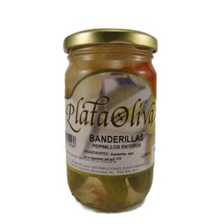BANDERILLA PLATA.PEPIN.ENT.140 G