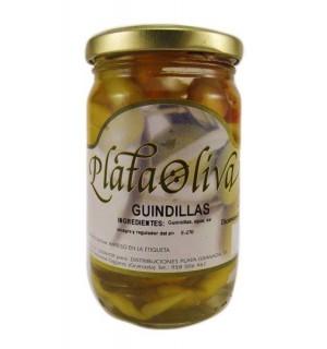 GUINDILLAS PLATAOLIVA VINAGRE 120 GR