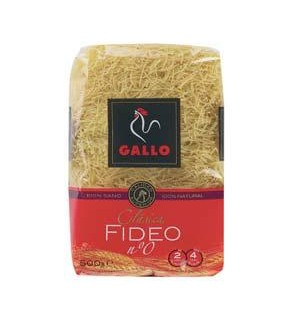 FIDEO GALLO Nº0 500 GR