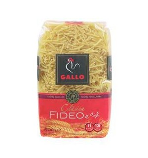 FIDEO GALLO Nº4 500 GR