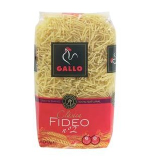 FIDEO GALLO Nº2 500 GR