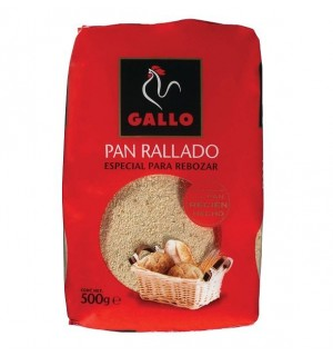 PAN RALLADO GALLO 500 GR