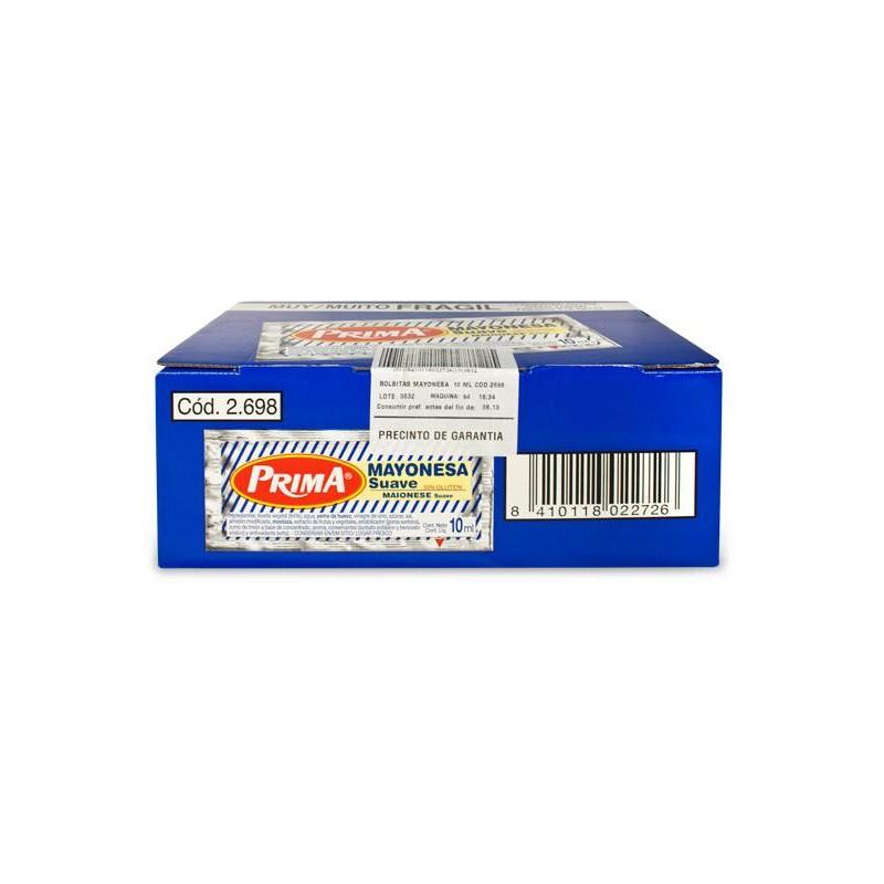 MAYONESA PRIMA PORC. 10 ML 270 UN