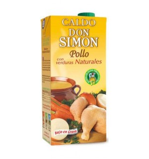 CALDO D. SIMON POLLO C/VERDURAS BK.1 L