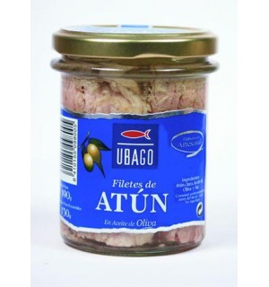 ATUN UBAGO CLARO ACT.OLV.FILET. BT.190 G