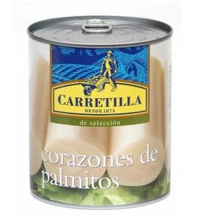 PALMITOS CARRETILLA LT. 800 GR