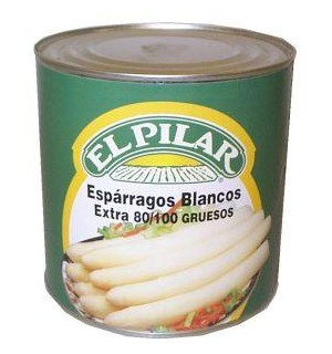 ESPARRAG. PILAR BLANCOS 80/100 LT. 2.5 K