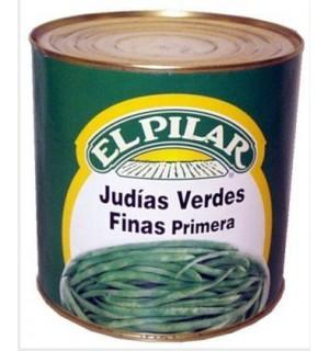 JUDIAS VERDES PILAR FINA REDON.LT.2.5 KG