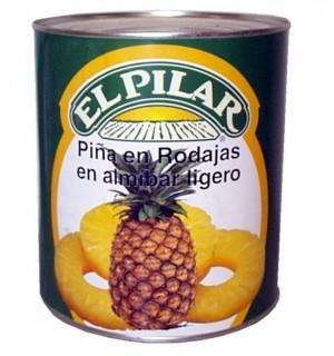 PIÑA PILAR RODAJAS ALMIBAR LT. 3 KG