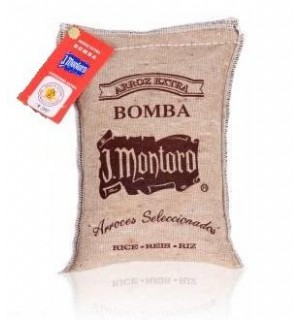 ARROZ J.MONTORO D.O. BOMBA SAC.TELA 1 KG