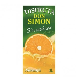 DISFRUTA D.SIMON NARANJA BK. 2 L