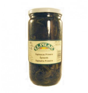 ESPINACAS PILAR NATURAL BT. 660 GR