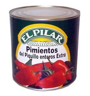 PIMIENTOS PIQ. PILAR ENTEROS LT. 3 KG