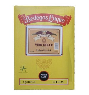 VINO DULCE LUQUE BAG 15 L