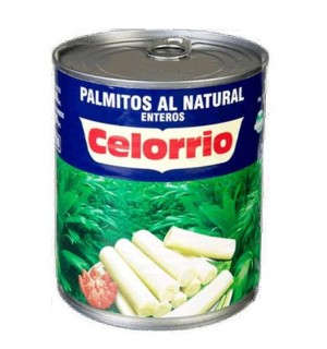 PALMITOS CELORRIO ENTERO LT. 800 GR