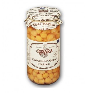 GARBANZO ROSARA NATURAL EXTRA BT. 660 GR