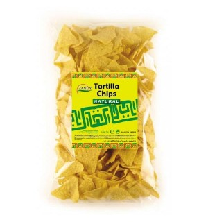 TORTILLA ZANUY CHIPS NATURAL 454 GR