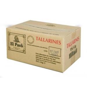TALLARINES EL PAVO 6 KG
