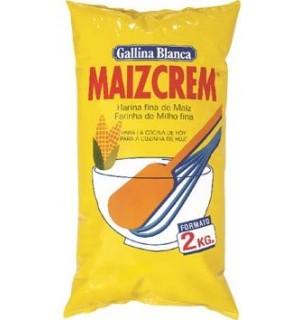MAIZCREM G.BLANCA HARINA FINA MAIZ 2 KG