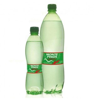 AGUA MIN. MONTE PINOS C/GAS PET 50 CL