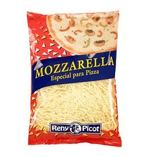 MOZZARELLA RENY PICOT PIZZA RALLADA 1 KG