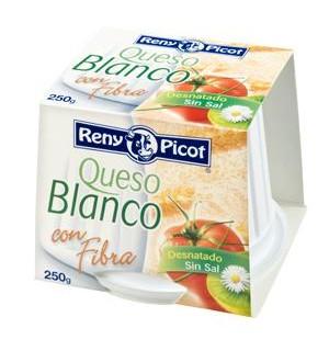 QUESO RENY PICOT BLANCO C/FIBRA 250 GR