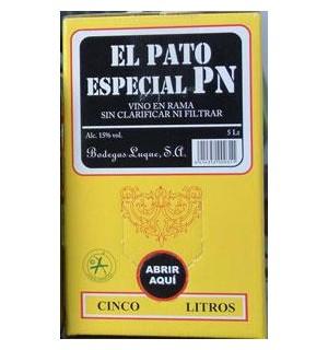 VINO FINO EL PATO ESPECIAL RAMA BAG 5 L