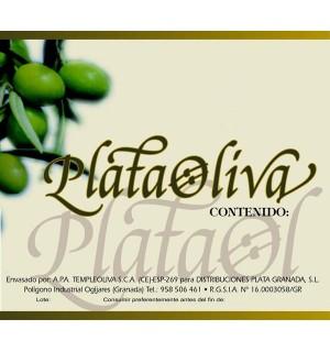 ACEITUNAS PLATA MANZ.S/ANCHOA 7.8 KG