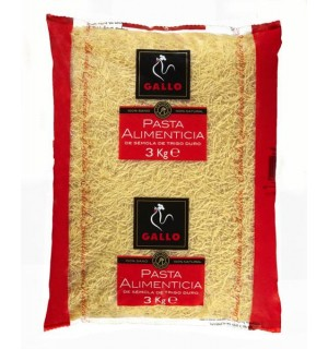 FIDEO GALLO Nº0 FINO 3 KG