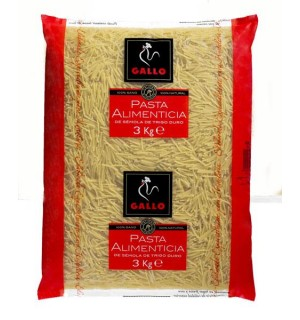 FIDEO GALLO Nº4 GORDO 3 KG