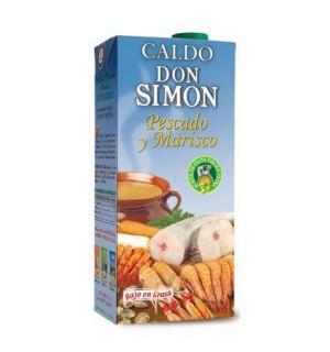 CALDO D. SIMON PESCADO Y MARISCO BK.1 L