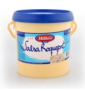SALSA MILLAS ROQUEFORT CUBO 1.850 KG