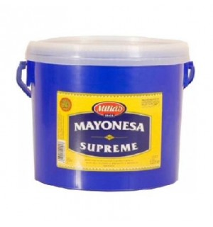MAYONESA MILLAS SUPREME CUBO 5 L